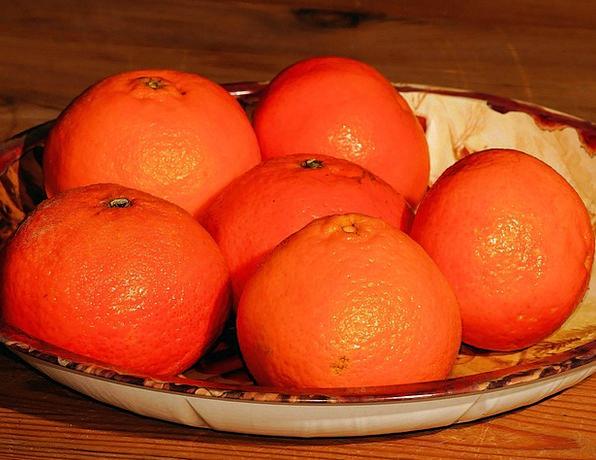 Tangerines Drink Food Orange Carroty Christmas Pla