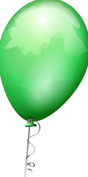Balloon Inflatable Lime Shiny Glossy Green Celebra