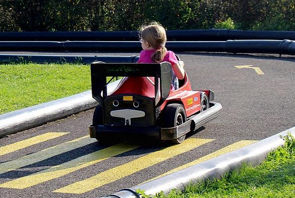 Go-Kart Kart Bumper Cars Switzerland Theme Park Fu