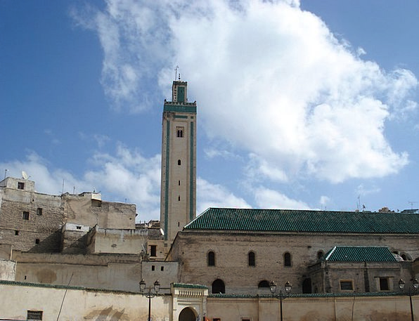 Mosque Buildings Architecture Morocco Islamic Arch