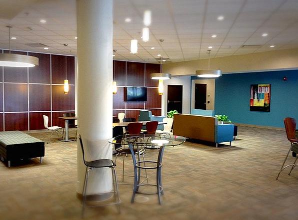 Lobby Foyer Finance Workplace Business Business Co