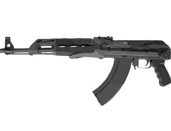Automatic Weapon Gun Firearm Machine Gun Submachin