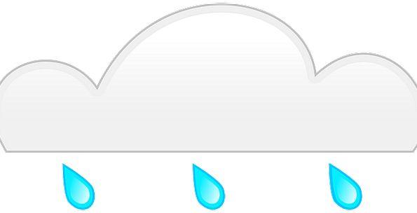 Rain Volley Mist Gray Leaden Cloud Condensation Bl