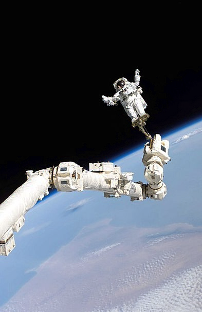 Space Walk Cosmonaut International Space Station A