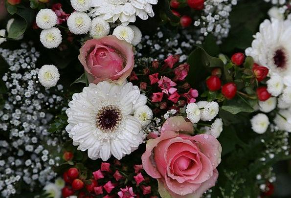 Bouquet Bunch Plants Floristry Flowers Wedding Blo
