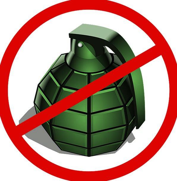 Grenade Repudiate War Conflict Deny Peace Concord