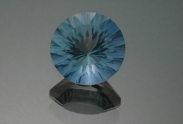 Topaz Gemstone Gem Blue Topaz Jewel Mineral Orname
