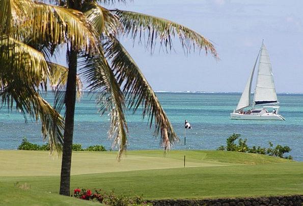Mauritius Vacation Travel Beach Seashore Golf