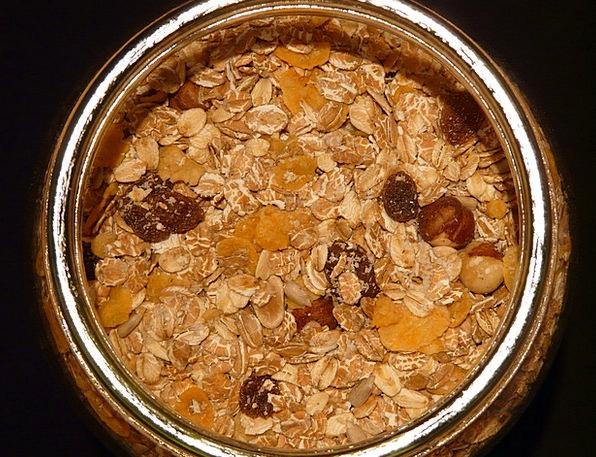 Muesli Breakfast cereal Drink Cut-glass Food Oatme