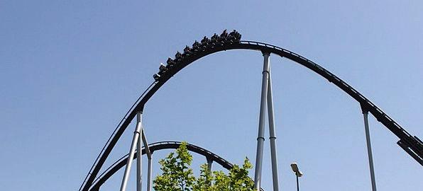 Roller Coaster Trip Year Market Ride Adrenaline Fu