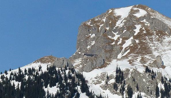 Alpine Mountainous Tannheimertal Tyrol Mountains A