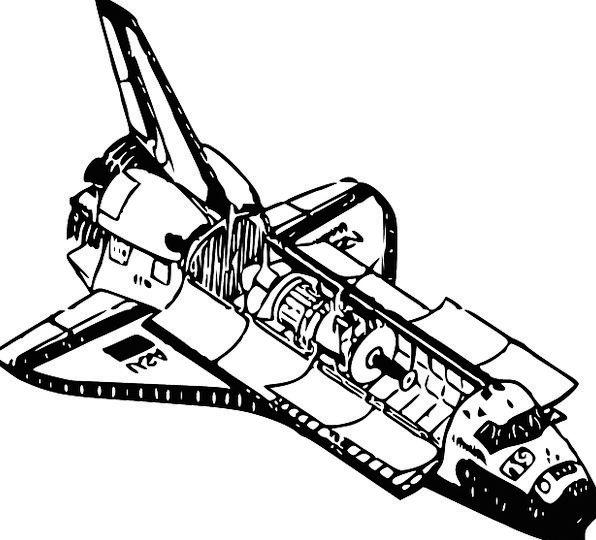 Shuttle Vehicle Traffic Vessel Transportation Diag