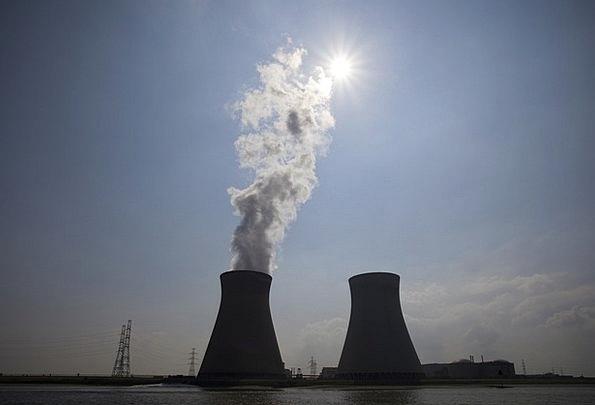 Nuclear Power Plant Dominant Steam Vapor Central E