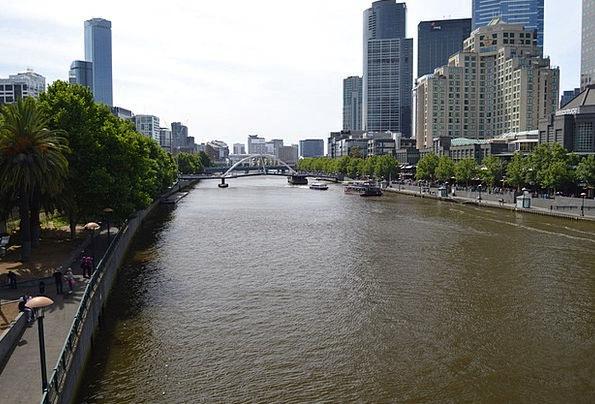 Yarra River Buildings Architecture Australia Melbo