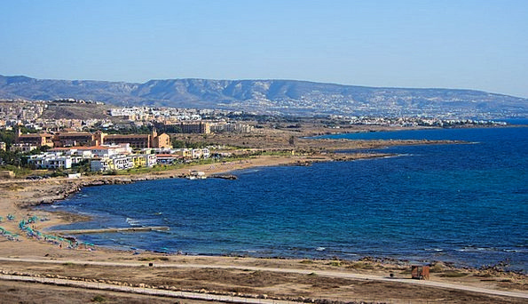 Beach Seashore Vacation Travel Coast Shore Cyprus