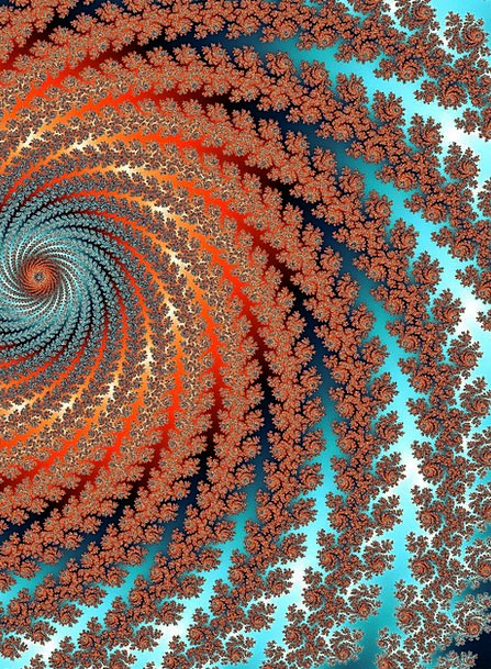 Fractal Textures Twisting Backgrounds Abstract Non