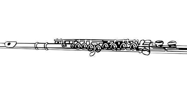 Flute Groove Musical Melodic Music Instrument Tool