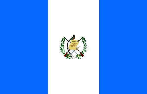 Guatemala Standard Country Republic Flag Symbol Si