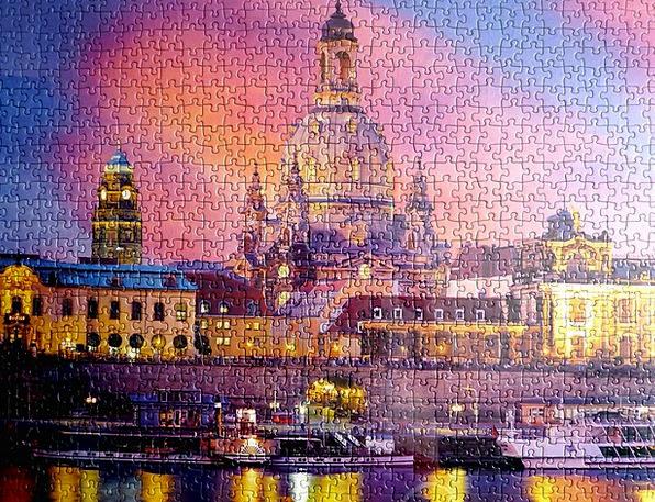 Puzzle Mystery Singular Dresden Special Elbe Fraue