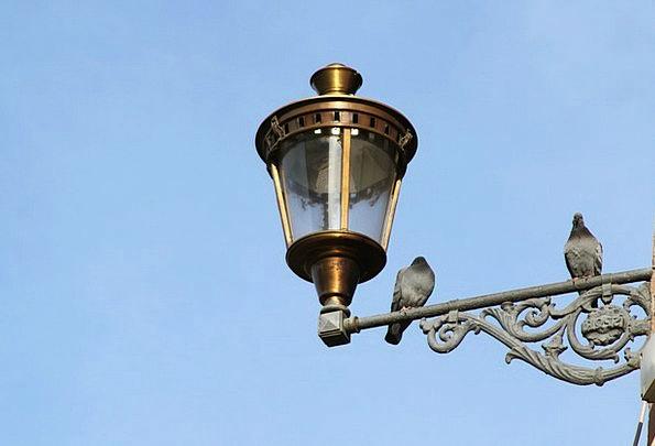 Lamp Uplighter Light Bright Street Lamp Fitting Ap