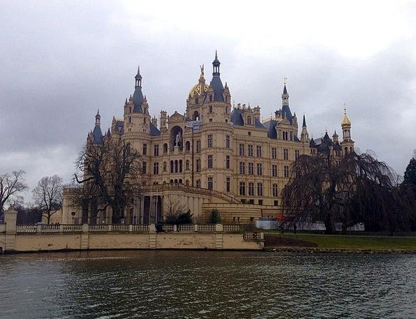 Castle Fortress Mecklenburg-Vorpommern Schwerin