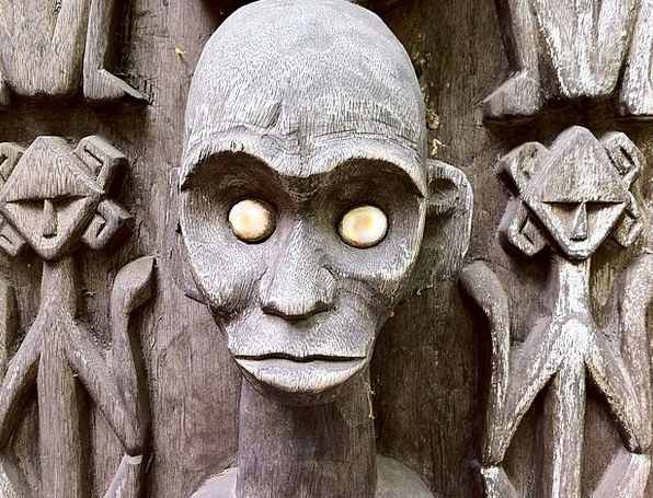 Sculpture Figurine Voodoo Statue Decoration Zombie