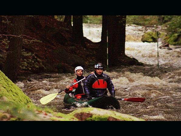 Canoe Aquatic Paddle Oar Water Will White Water Th