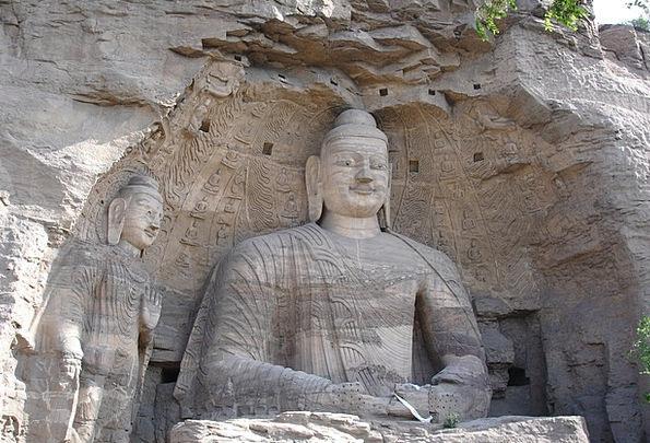China Porcelain Statue Figurine Buddha Datong Yung