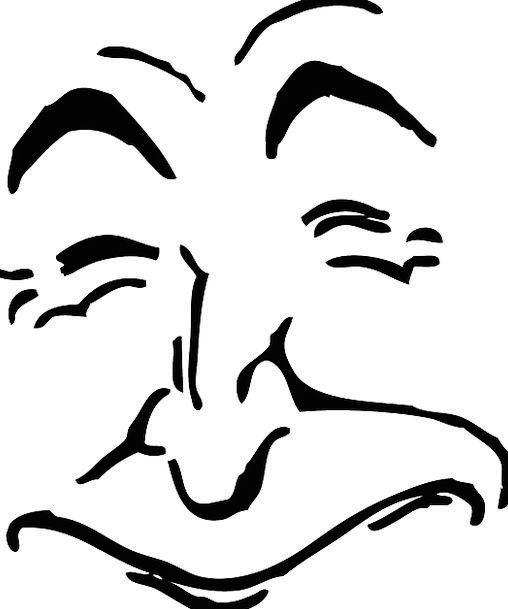 Face Expression Ancient Man Gentleman Old Smile Be