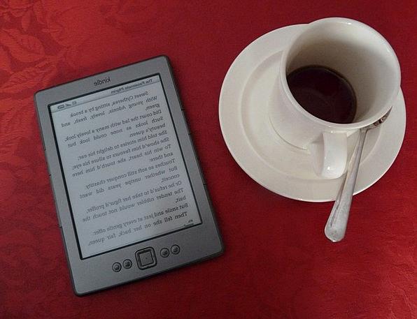 Kindle Spark Communication Computer Coffee Chocola