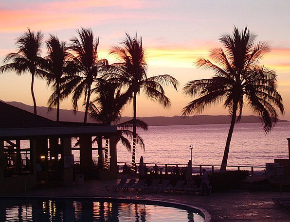 Sunset Sundown Vacation Travel Sea Marine Sun Suns