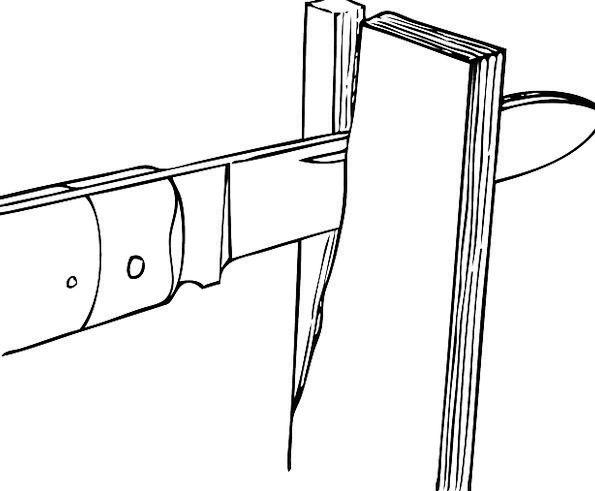 Knife Blade Instrument Sharp Shrill Tool Splitting