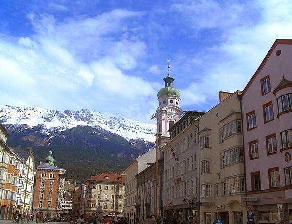 Innsbruck Vacation Travel Travel Portable Austria