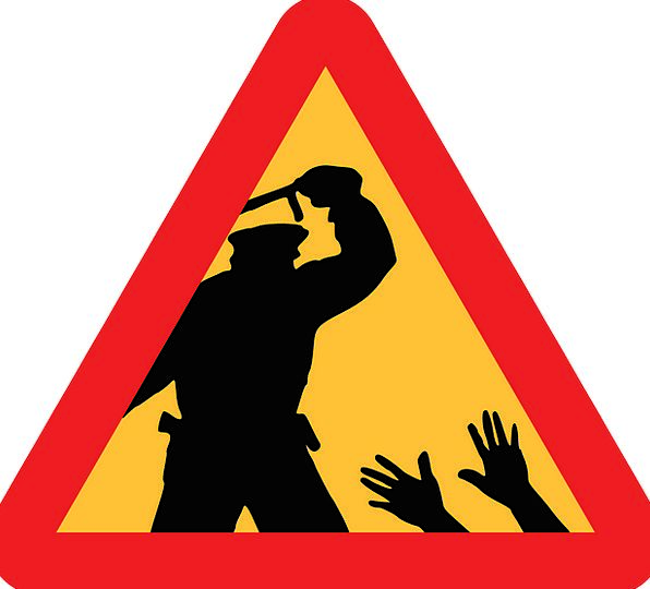 Police Forces Cruelty Warning Cautionary Brutality