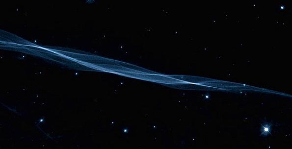 Veil Fog Thread Constellation Swan Filament Night