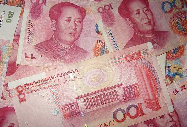 Chinese Finance Business Money Currency Rich Yuan