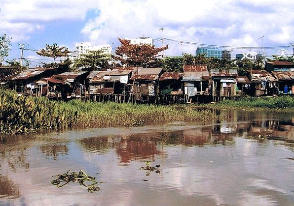 Saigon Shantytowns Asia Slums Vietnam Poor Culture