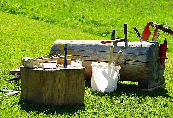 Tools Of The Trade Craft Industry Meadow Field Woo