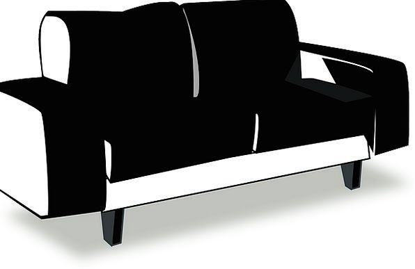 Couch Buildings Dark Architecture Sofa Lounger Bla