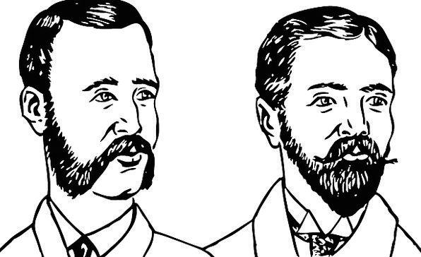 Beards Whiskers Types Of Beards Beard Styles Mutton Chops