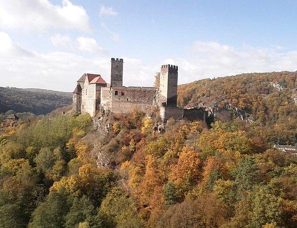Hardegg Landscapes Fortress Nature Austria Castle