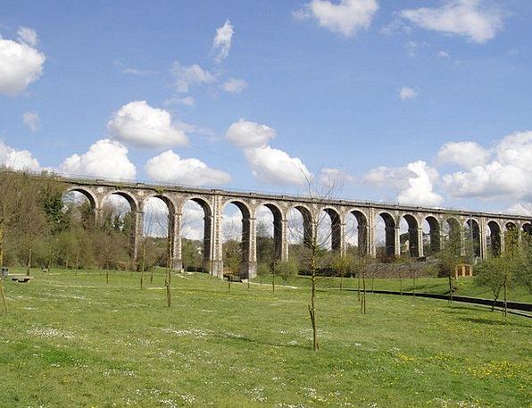 Ponte Da Chanca Viaduct Bridge Lugo Roman Bridge