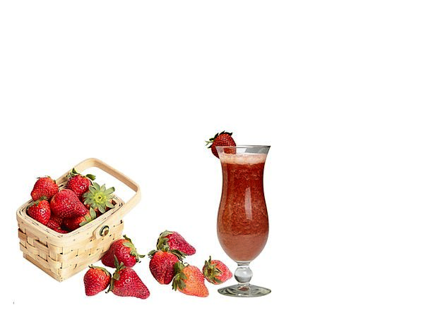 Strawberries Drink Ovary Food Food Nourishment Fru