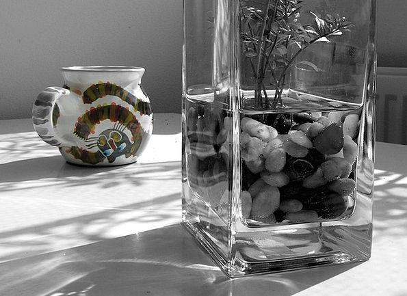 Vase Urn Mug Rhinestones Pastes Cup Flower Floret