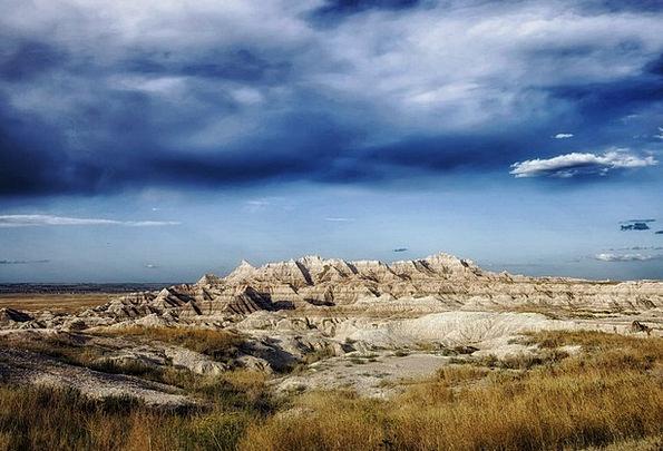 Badlands Wildernesses Landscapes Nature Landscape
