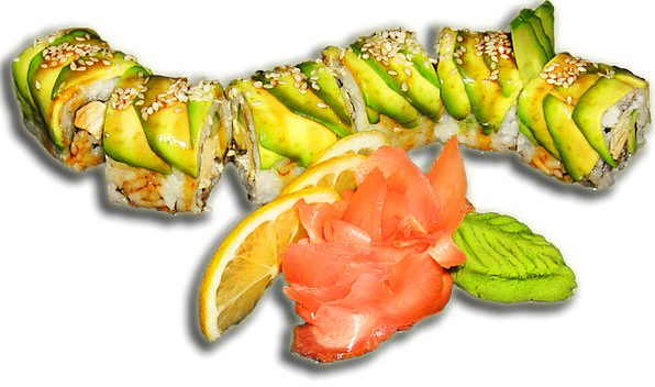 Sushi Drink Reels Food Sesame Rolls California Gin