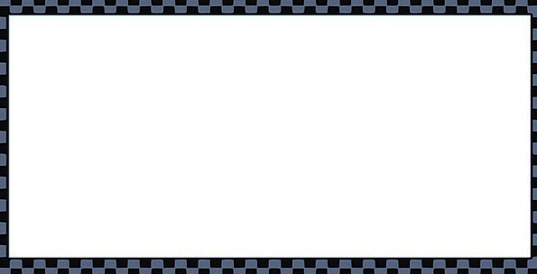 Border Edge Elaborate Page Sheet Fancy Checkered U