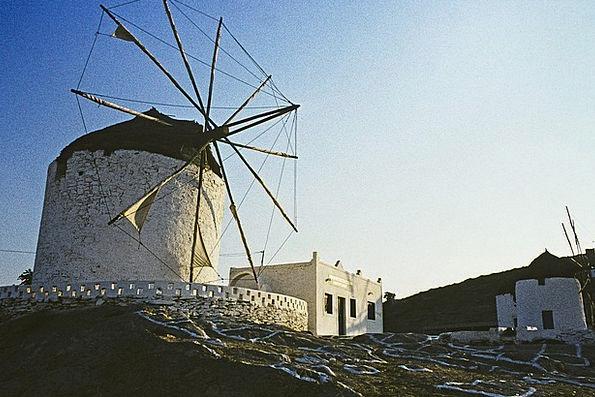 Greece Buildings Architecture Greek Island Ios Blu