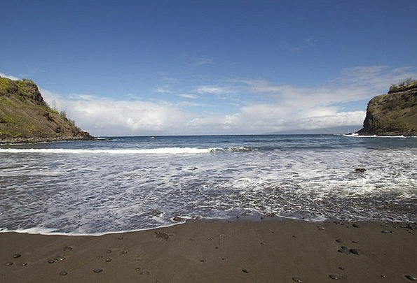 Maui Vacation Seashore Travel Sand Shingle Beach O