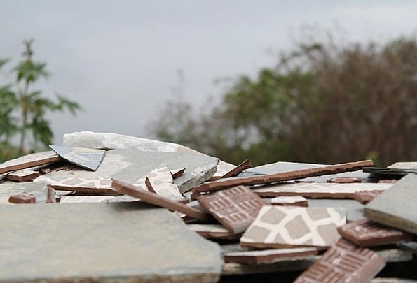Rubble Debris Obliteration Broken Wrecked Destruct